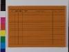 Karteikarte Verbrauchsmaterialnachweis, Ruckseite
